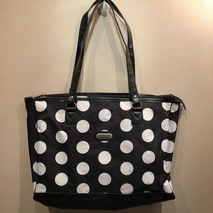 Overland Travelware | Polk a Dot Tote Bag